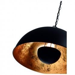 Lampada a sospensione TANNA E27 ø53cm nero