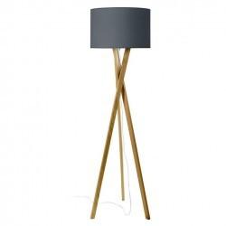 Lampada Piantana WOOD E27 legno chiaro