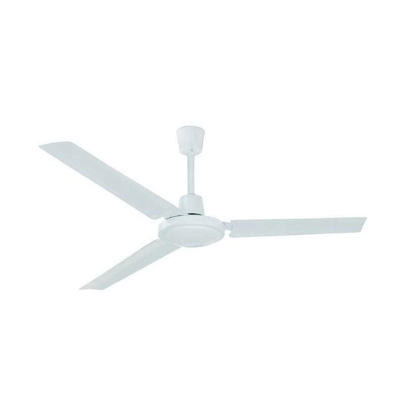 Ventilatore da soffitto FUJIL sin luce IP20 Ø140cm Bianco