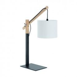 Lampada da tavolo BRITTA IP20 E27 nero