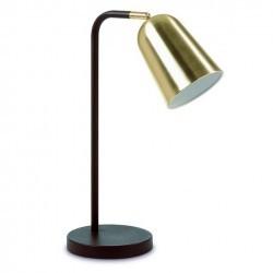 Lampada da tavolo ASTRID IP20 E27 marrone ruggine