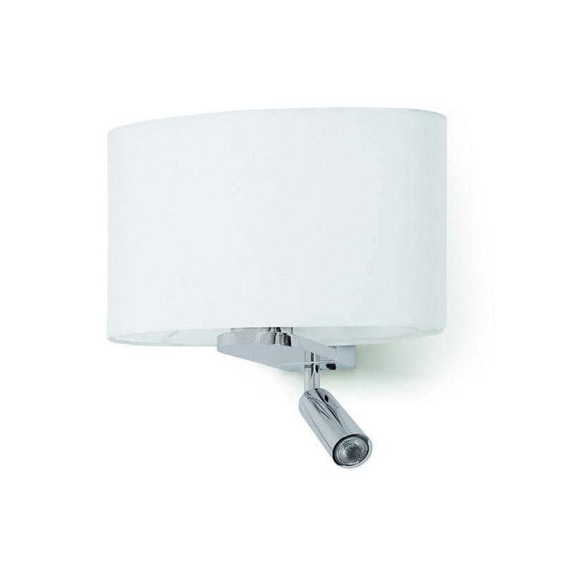 Applique BAY IP20 E27 +LED 3W 160lm cromo