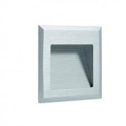 Lampada a incasso WINDOW2 IP44 LED3W 160lm Alluminio anodizzato 3000K