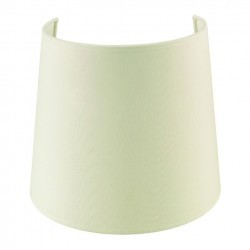Paralume per Lampada Applique conico 21 cm cotone  beige
