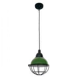 Lampada a sospensione CLAIRE E27 15W verde