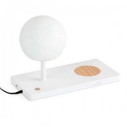 Lampada LED con base di carica a induzione USB NIKO 6W 3000K bianco