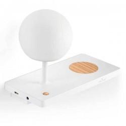 Applique destro LED con base di carica a induzione USB NIKO 6W 3000K bianco