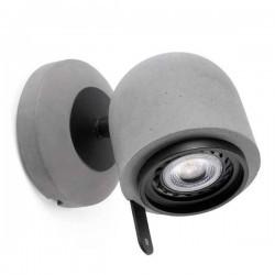 Faretto orientabile STONE-1 GU10 8W grigio