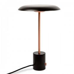 Lampada portatile LED HOSHI 12W 2700K 930lm rame + nero