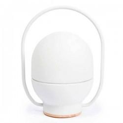 Lampada portatile LED TAKE AWAY 3W 3000K 300lm, bianco + USB