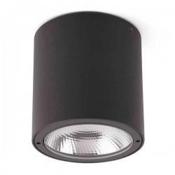 Plafone LED da esterno GOZ 8W 3000K 500lm, grigio scuro