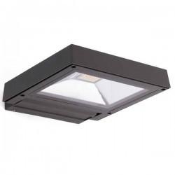 Proiettore LED KARL 12W 3000K 1100lm, grigio scuro