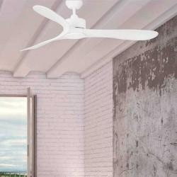 Ventilatore da soffitto LUZON Ø132CM bianco con telecomando