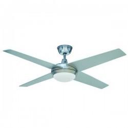 Ventilatore da soffitto con luce MARINADA LED 1x13W 3000K Grigio