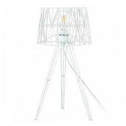Lampada da tavolo TESS E27 Bianco