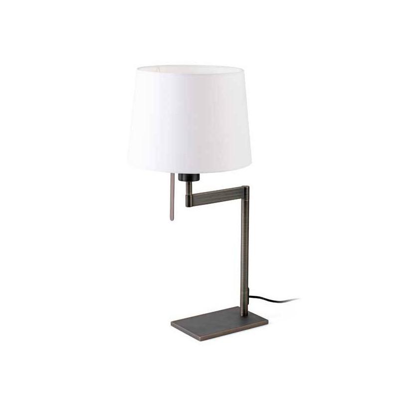 Lampada Da Tavolo Artis Bronzo E27