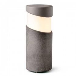 Lampioncino 35cm Faro BLOCK in Cemento e27