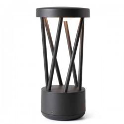 Lampioncino LED Faro TWIST Grigio Scuro 10W