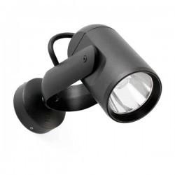 Proiettore LED 20cm Faro SLOT Grigio Scuro 14W