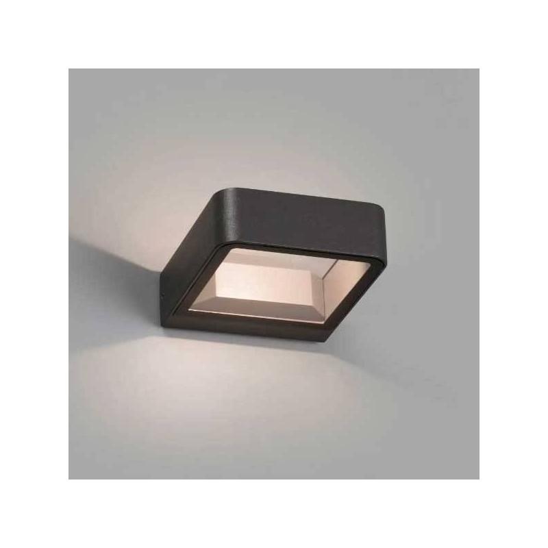 Lampada applique LED Faro AXEL grigio scuro 6W