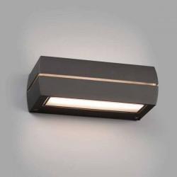 Lampada applique LED Faro DRAGMA grigio scuro 15W