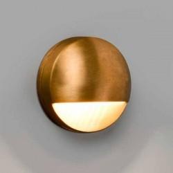Lampada applique LED Faro DRAK ottone 6W