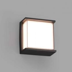 Lampada applique LED Faro HIKARI grigio scuro 10W