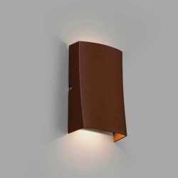 Lampada applique LED Faro NAIROBI Marrone Ossido 6W