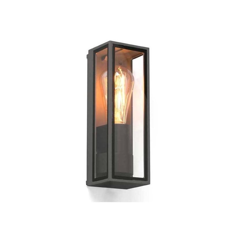 Lampada applique Faro TAMASHI grigio scuro E27