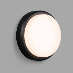 Lampada applique LED Faro TOM nero 7W