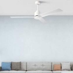Ventilatore da soffitto motore DC con luce LED bianco LEDS-C3 CORE