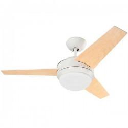 Ventilatore da soffitto con luce bianco LEDS-C3 WINDY