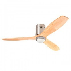 Ventilatore da soffitto DC con luce LED bianco LEDS-C3 STEM