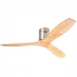 Ventilatore da soffitto DC legno chiaro LEDS-C3 STEM