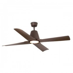 Ventilatore da soffitto FARO Typhoon DC Ø1300mm marrone 4 pale IP44