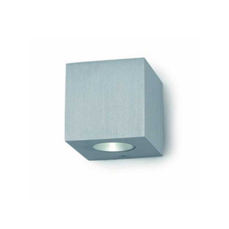 Applique BRICK PoWerLed 2X3W Alluminio