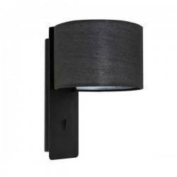 Applique E27 Faro FOLD nero