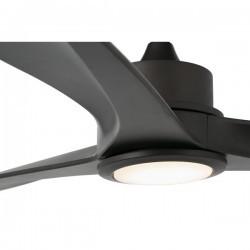 Ventilatori da soffitto con luce Faro TONIC Ø152CM MARRON 3 PALAS LED 15W 3000K