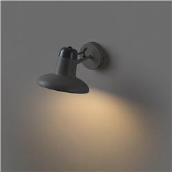 Applique Faro Snap Lampada Da Parete Grigio Scuro 1Xe28