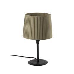 Lampada Faro Samba Lampada Da Tavolo Nera Paralume Verde Ø250*2