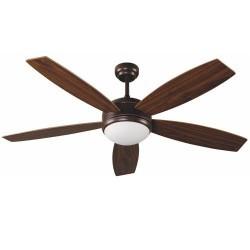 Con ventilatore a soffitto marrone chiaro modello vocals