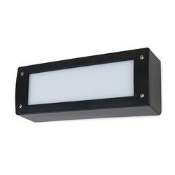 Lampada applique DEVON IP66 GX53 LED T2 2x3W 3000K nero Dopo 084U-G31X2A-02