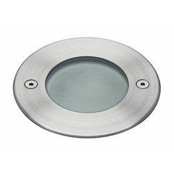 Lampada a incasso da pavimento ELIO IP67 LED SMD AC 4W 4000K Inox Cristher 093A-L0205B-30