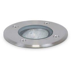Lampada a incasso da pavimento BORA IP67 GU10 35W Inox Dopo 037D-G21X1A-30