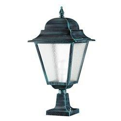Lampioncino da giardino classico ELITE 4 IP43 E27 70W nero Cristher 095N-G05X1A-02