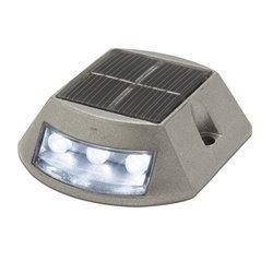 Faretto da pavimento solar INTI IP68 LED SMD 0.34W grigio Cristher 152A-L02X1K-03