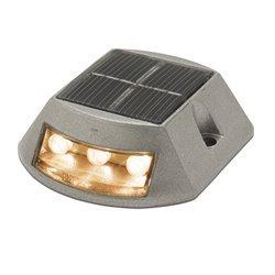 Faretto da pavimento solar INTI IP68 LED SMD Ambar 0.34W grigio Cristher 152A-L07X1K-03