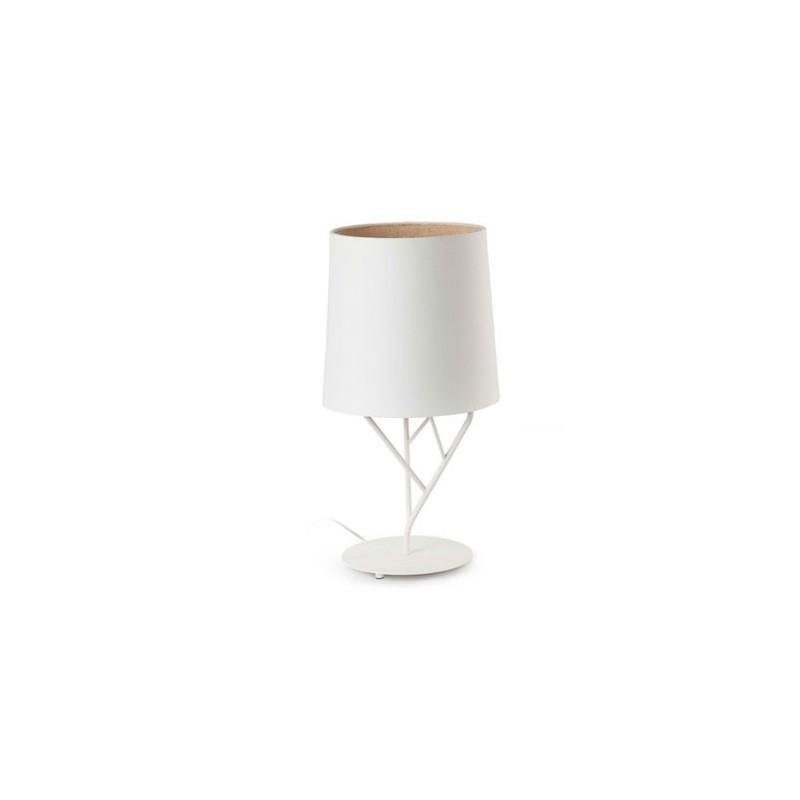 Lampada metallo albero interno bianco 1 L E27 desktop