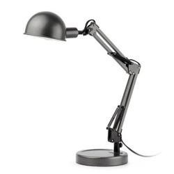 Desktop di lampada E14 grigio interni metallo BAOBAB
