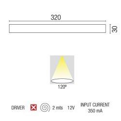 Striscia di LED alluminio BRIGHT-3